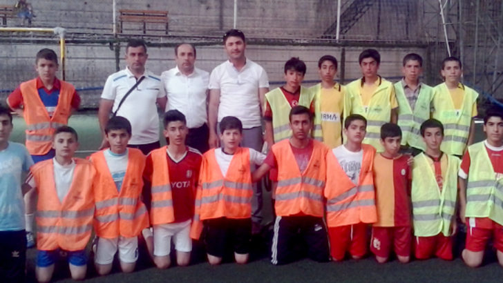 """""""Oduzu Okullar Arası Yaz Futbol Turnuvası Başladı"""""""