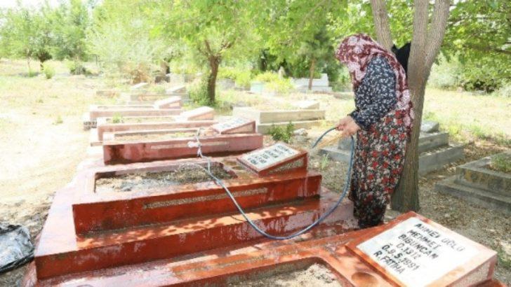 Mezarlıklar Modern Görünüme Kavuşuyor