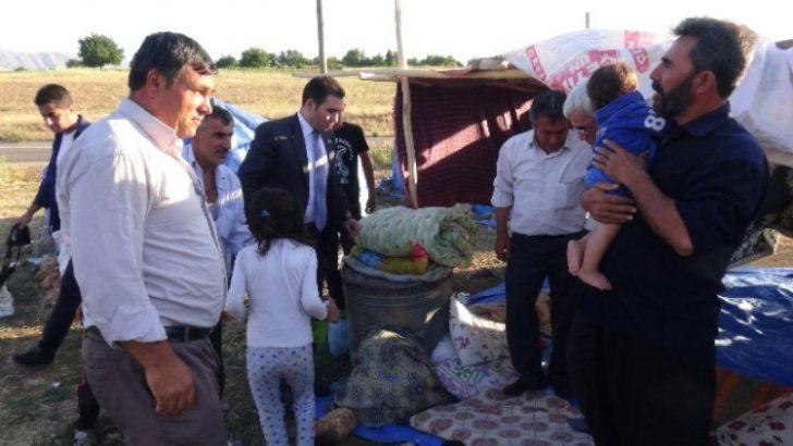 Kaymakam Irgatoğlu'ndan Mevsimlik İşçilere Ziyaret
