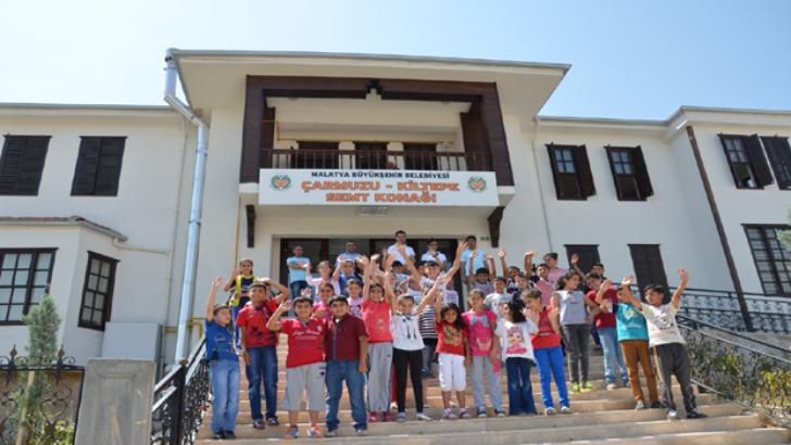 Malatya Büyükşehir Belediyesi Yaz Okulu Başladı