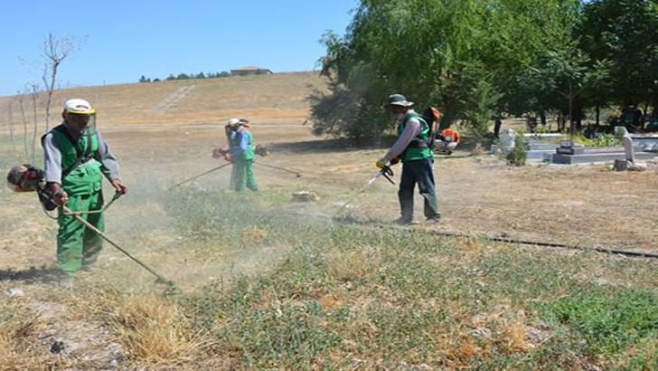 Battalgazi'de Yeşil Alanlar ve Parklar Modern Sulama Sistemine Kavuştu