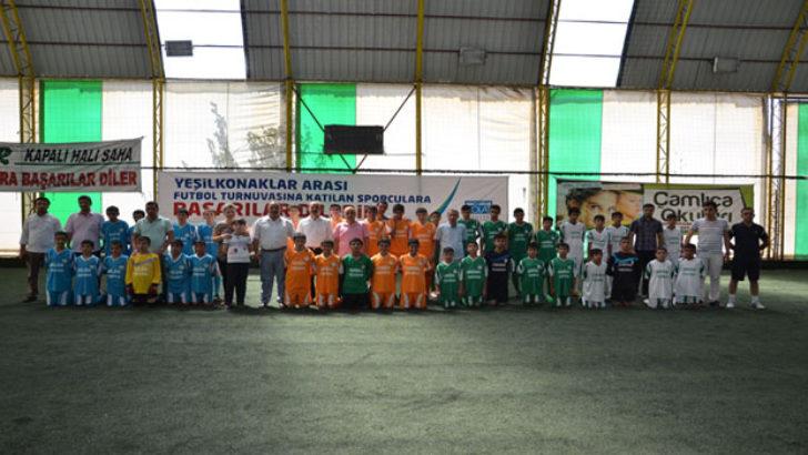 Yeşil Konaklar Arası Futbol Turnuvası Başladı
