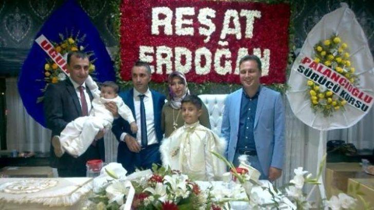 Malatya'da Taha ve Yuşa kardeşlerin görkemli sünneti