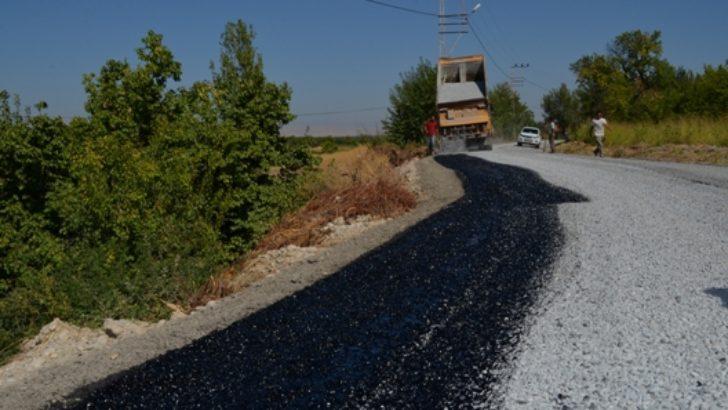 Alişar Mahallesi'nin Yolları Asfaltlanıyor
