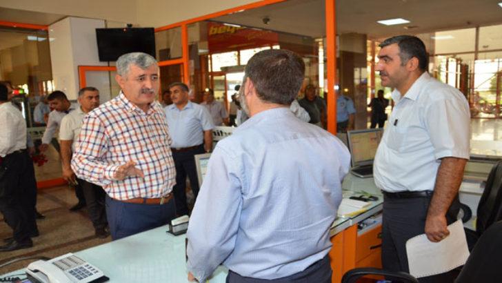 Malatya'da Doğu Firmaları Yolcularına Karanfil Verildi