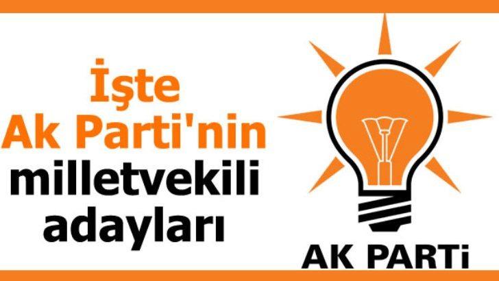 Ak Parti Malatya Milletvekili Adayları Belli Oldu