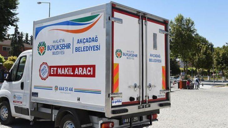 Malatya Büyükşehir Belediyesi Et Nakil Araçları Aldı