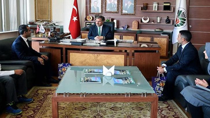 Öğretmen ve Öğrencilerden, Başkan Çakır'a Ziyaret