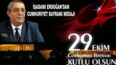 İşadamı Erdoğan'dan Cumhuriyet Bayramı Mesajı
