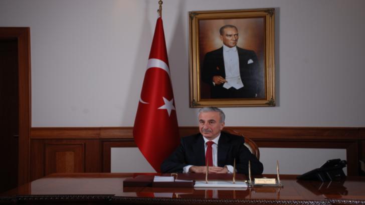 Vali Süleyman Kamçı'nın 29 Ekim Cumhuriyet Bayramı Kutlama Mesajı