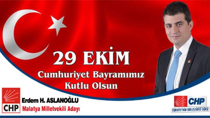 Erdem H. Aslanoğlu 29 Ekim Mesajı