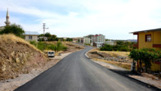 Arapgir'in Cadde Ve Sokakları Asfaltlandı