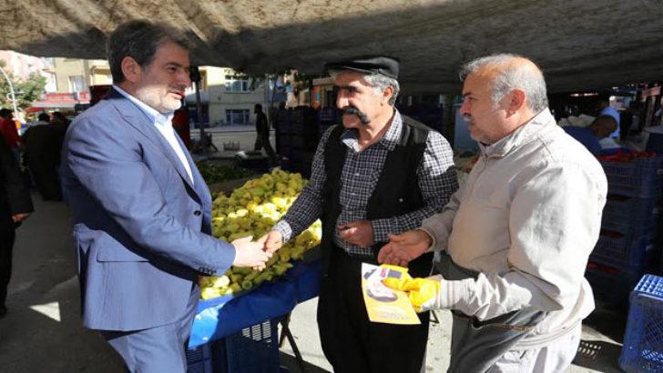 Malatya Ak Parti Milletvekilleri Seçim Çalışmalarını Sürdürüyor