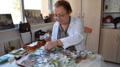 Malatya'da Kağıt Rölyef Kursu Açıldı