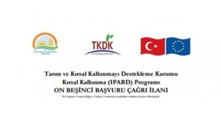 TKDK Kırsal Kalkınma Desteği 15. Çağrı İlana Çıktı