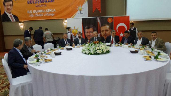 Ak Parti Malatya İl Teşkilatı Dünden Bugüne İstişare Edildi