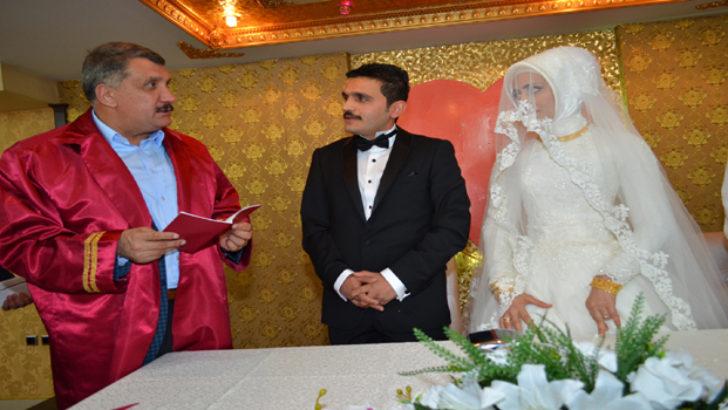 Başkan Gürkan, Yeni Süreçte 500'üncü Nikahı Kıydı