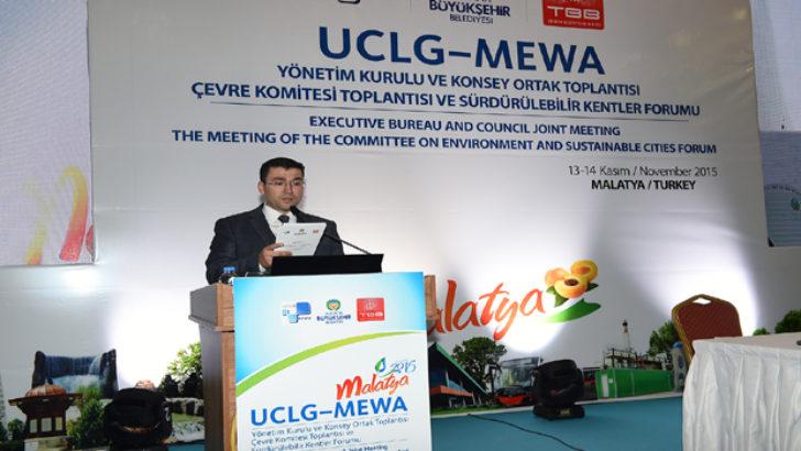 UCLG-MEWA Malatya Deklarasyonu Yayınlandı.