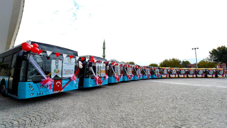 Motaş 14 Adet Yeni Otobüs Filosuna Kattı