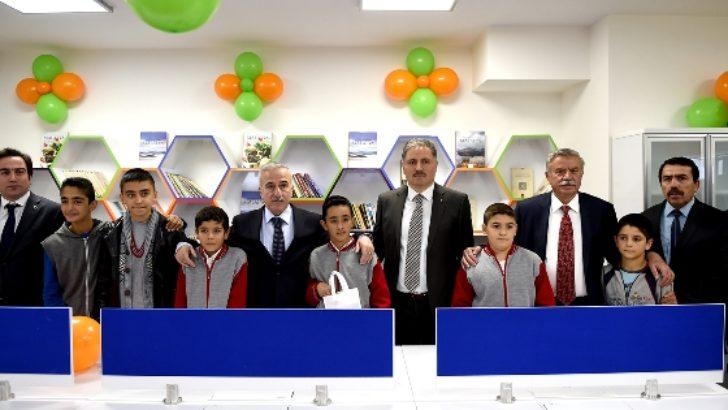 Doğanşehir'de Kütüphane Açılış Töreni