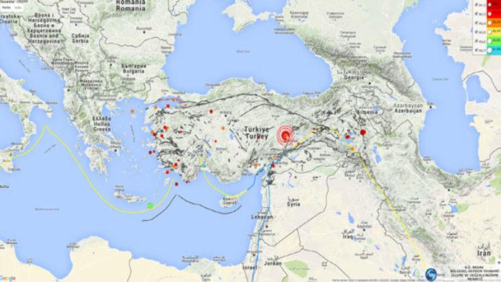 Malatya'da Korkutan Deprem…