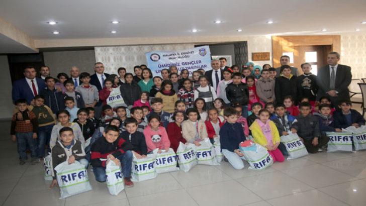 Malatya Çocuk Şube Müdürlüğü Öğrenci ve Ailelerini Bilinçlendiriyor