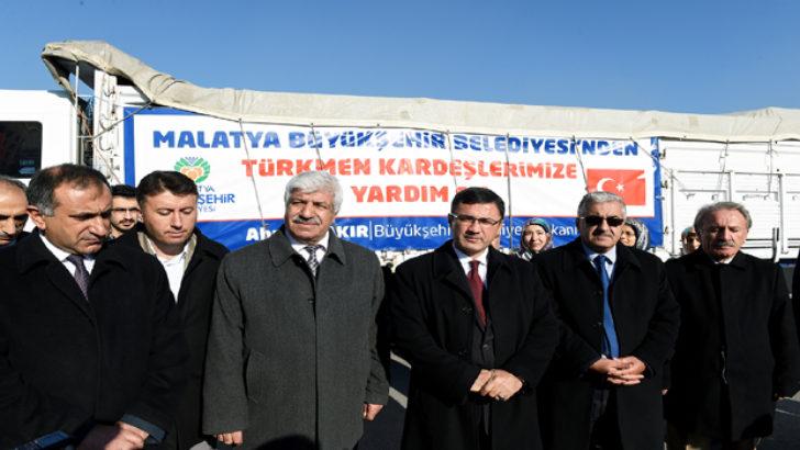 Bayırbucak Türkmenlerine Gıda Yardımı