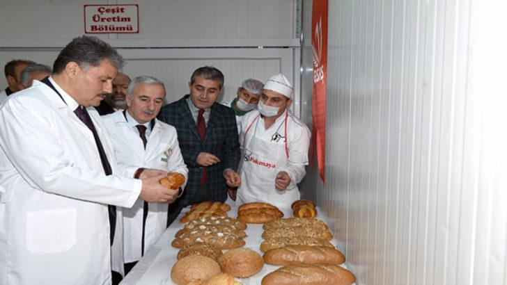 Megsaş, El Değmeden Ekmek Üretiyor