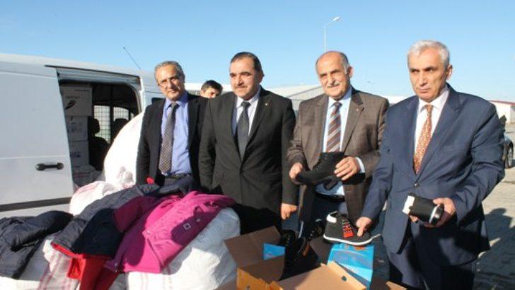Suriyelilere yardım
