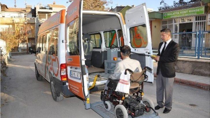 Engellilere özel servis