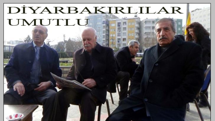 Diyarbakırlılar Erdoğan-Zana görüşmesinden umutlu