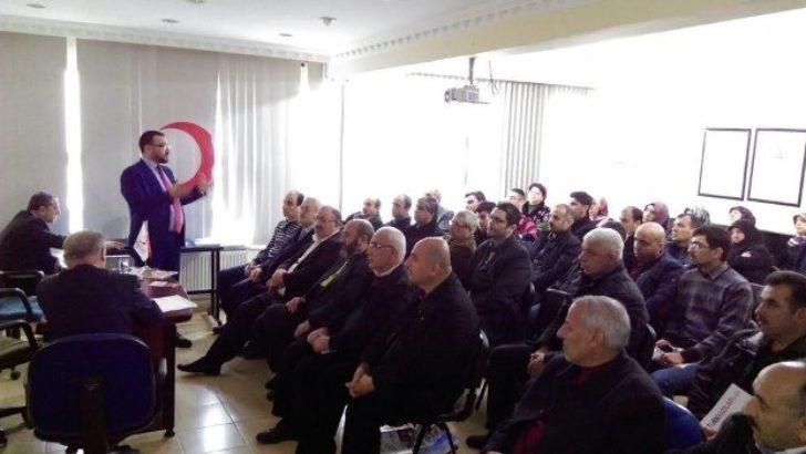Kızılay Malatya Şube Başkanı Umut Yalçın, Güven Tazeledi