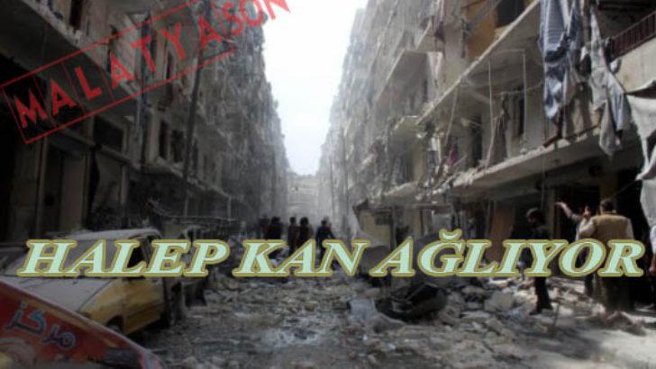 Halep kan ağlıyor