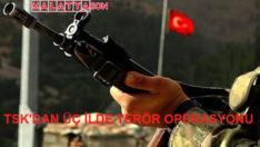 TSK'dan Üç İlde Terör Operasyonu