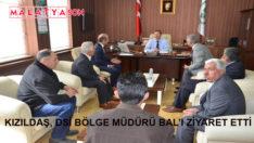 Kızıldaş, DSİ Bölge Müdürü Bal'ı Ziyaret Etti