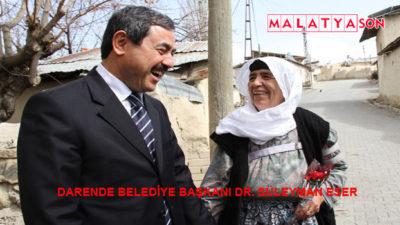 Darende Belediye Başkanı Dr. Süleyman Eser