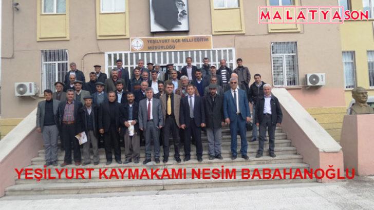 Yeşilyurt Kaymakamı Nesim Babahanoğlu