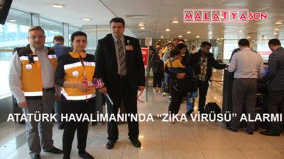"""Atatürk Havalimanı'nda """"Zika Virüsü"""" Alarmı"""