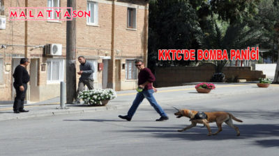 KKTC'de Bomba Paniği