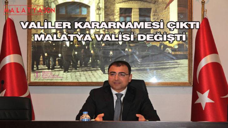 Valiler Kararnamesi Çıktı Malatya Valisi Değişti