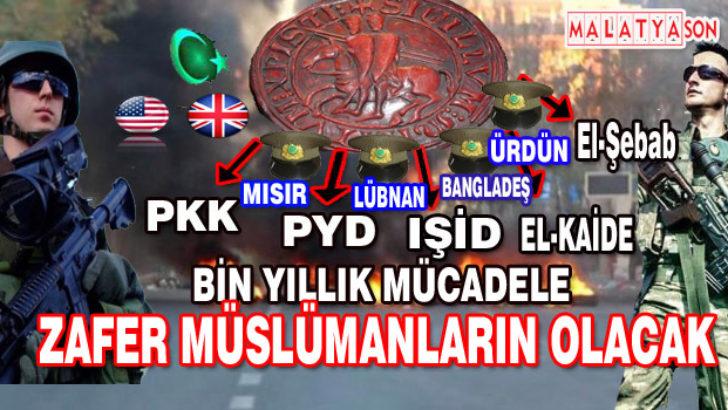 Bİn yıllık mücadele,zafer Müslümanların olacak