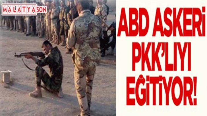 ABD askeri PKK militanını eğitiyor