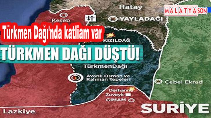 Türkmen Dağı'nda katliam var