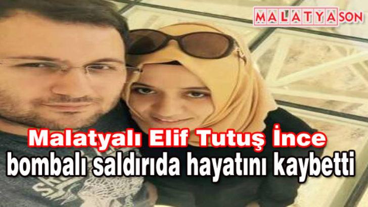 İstanbul'daki saldırıda Malatya'ya acı haber geldi