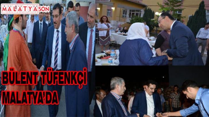 Bülent Tüfenkçi Kadir gecesi Malatya'da halkla beraber
