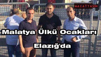 Malatya Ülkü Ocakları, Elazığ'da