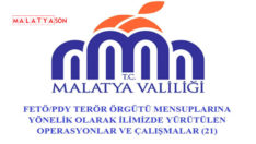 Malatya Valiliği'nden FETÖ /PDY Operasyonlarına Devam
