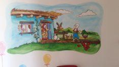 Anaokulu Sanat Sokağına Dönüştü