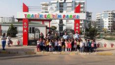 Anaokulu Öğrencileri Trafik Eğitim Parkı Gezdi