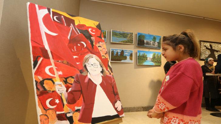 Suriyeli Çocuklar Duygularını Resmetti